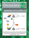 Current Cover of Oncoscience